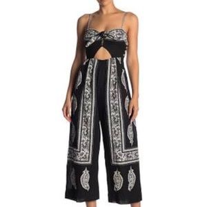 Free People Feel the Sun Cutout Jumpsuit NWT